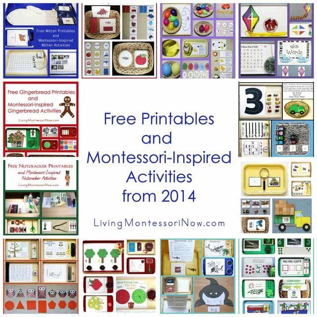 http://livingmontessorinow.com/2015/01/05/montessori-monday-free-printables-and-montessori-inspired-activities-from-2014/