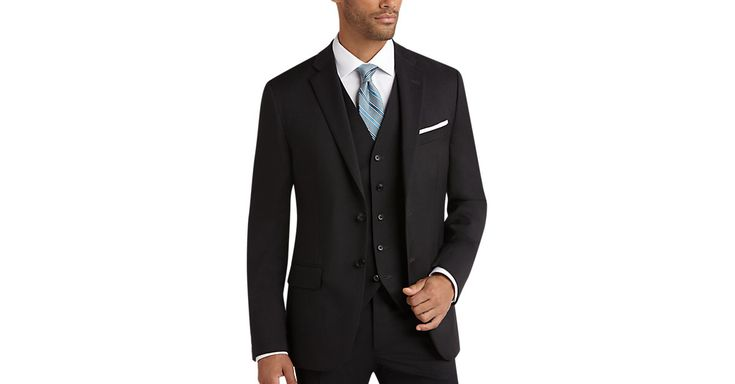 Check this out! Joseph Abboud Charcoal Gray Slim Fit Suit Separate - Suits from MensWearhouse. #MensWearhouse