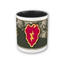 Army 25th Infantry Division Coffee Mug