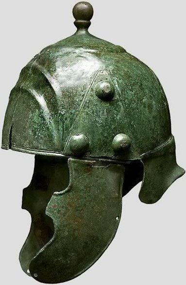 Celtic helmet, eastern Europe