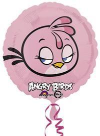 Angry Birds Pink, Folyo Balon Folyo balon, uçan balon, balon buketi, psrti balonu, temalı balon, balon süsleme