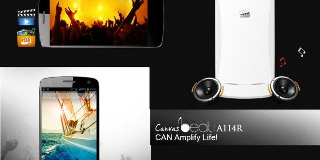 Micromax Canvas Beat: Launched exclusively on Aircel | i Gadgets World | innovative Gadgets World