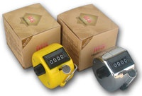 Tally Hand Held Counters The Tally Counter is a lightweight and ergonomically designed counter suited for situations where fixed counters may not be suitable. These counters a great for use in venues such as Hotels, Sporting Clubs, Nightclubs where occup.