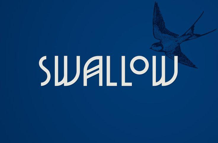 Swallow Bar Logotype.
