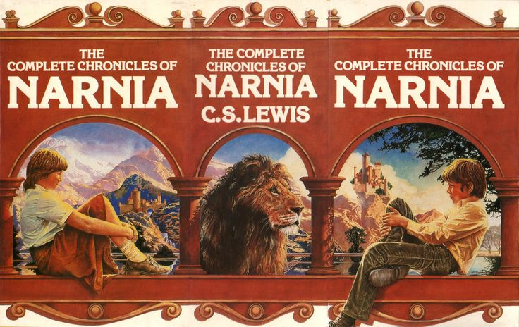 Who didn't read the chronicles of Narnia back in the day. Stephen Lavis artwork again.