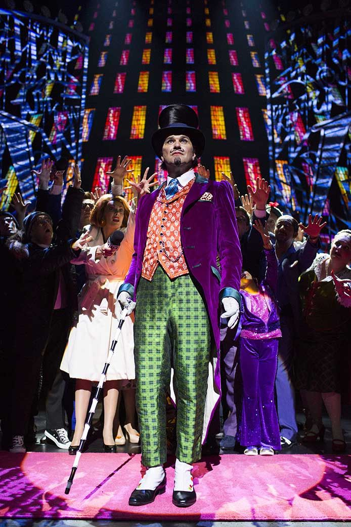 London's West end show: Charlie and the Chocolate Factory. XUK Activity went to see Charlie and the Chocolate factory in Summer 2014!