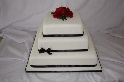 Wedding Cake - www.suikerbekkie.co.za