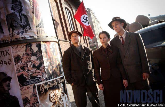 Scene from Japan movie about Chiune Sugihara, diplomat who rescue thousands of Jews during II World War. Film is realised in Chełmno near Toruń.  Ph. Nowości - Dziennik Toruński  www.tofifest.pl :: www.twitter.com/tofifest :: www.facebook.com/tofifest