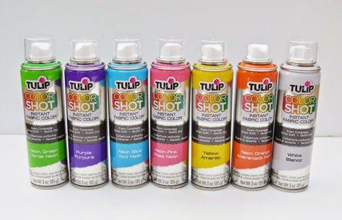 iLoveToCreate Blog: Color Shot T-Shirts