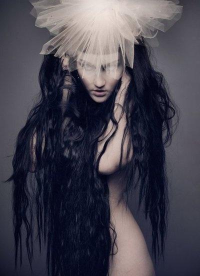 .: Photos, Inspiration, Long Black Hair, Long Hair, Natalie Pretentious, Posts, Dark, Fashion Editorial, Photography