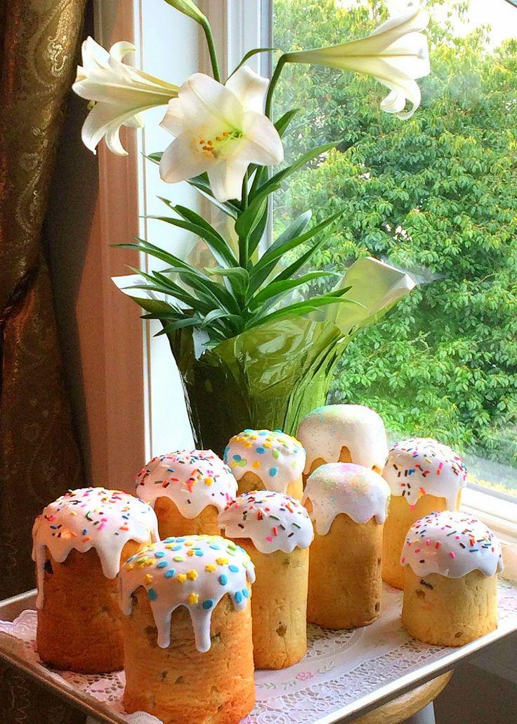 Кулинарные моменты: Пасхальные куличи