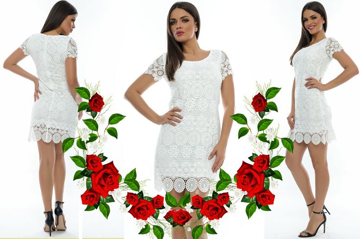 La Adrom Collection a sosit un nou model de rochie confecționată din dantelă brodată, pe o croială dreaptă și cu mânecă scurtă. Acest model se poate achiziționa online în regim en-gros de aici: http://www.adromcollection.ro/rochii-dantela/231-rochie-angro-r505.html