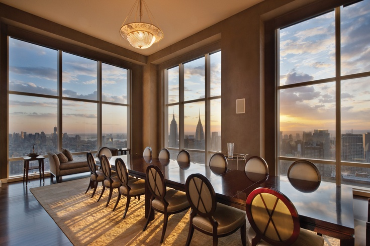 Dinner w fabulous view  Penthouse apt at 845 United Nations Plaza  Midtown    Dream Home   Pinterest   Manhattan  Penthouses and InteriorsDinner w fabulous view  Penthouse apt at 845 United Nations Plaza  . Holiday Apartments New York Manhattan. Home Design Ideas
