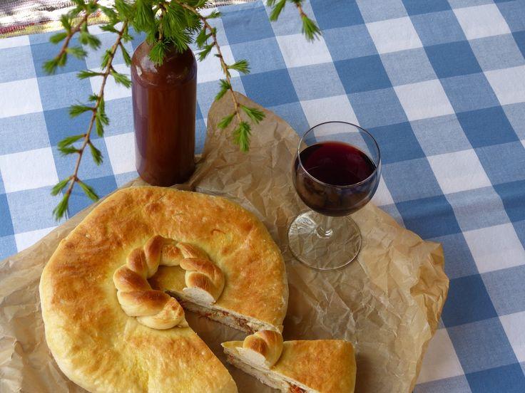 Recepty pro radost: Gruzínský koláč chačapuri podle časopisu FOOD