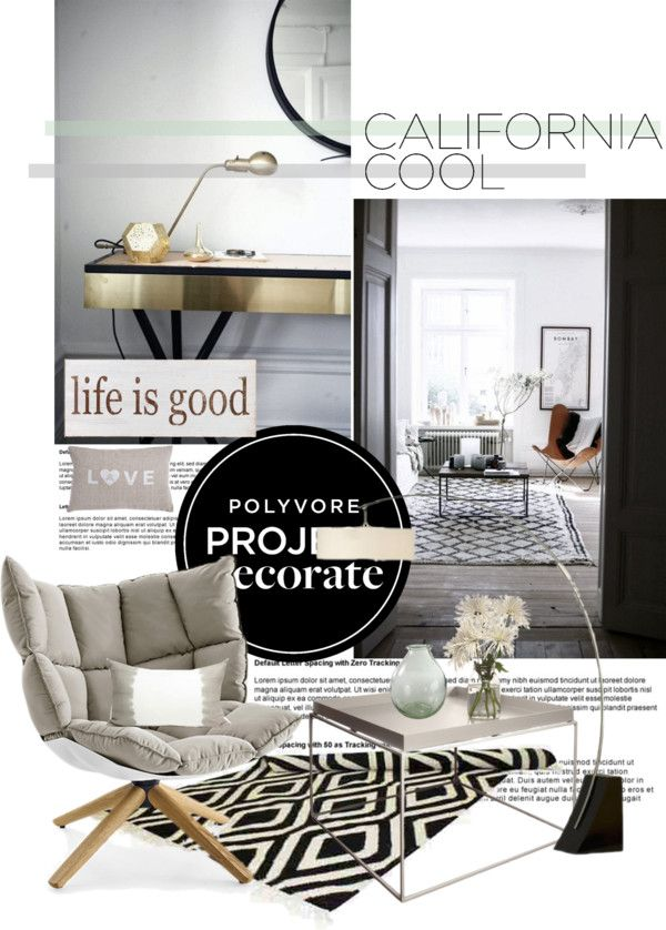 """""""Project Decorate:California Cool with Flourish Design and Style"""" by bamaannie on Polyvore"""