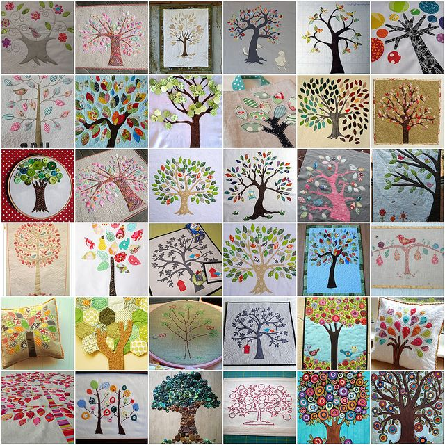 Tree Love Wool Quilts And Blocks Family Tree Quilt