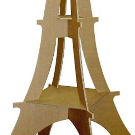comment construire une tour eiffel en carton