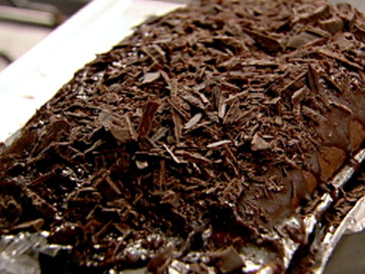 Quadruple Chocolate Loaf Cake recipe from Nigella Lawson via Food Network