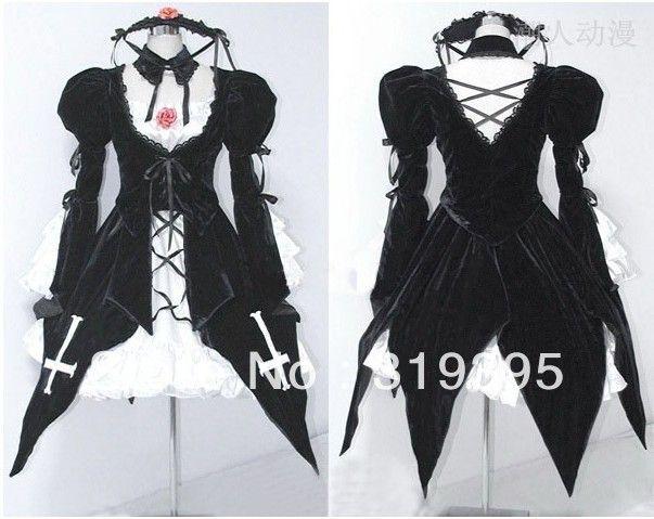 Japanese Anime Clothing the evil Rozen Maiden doll ...