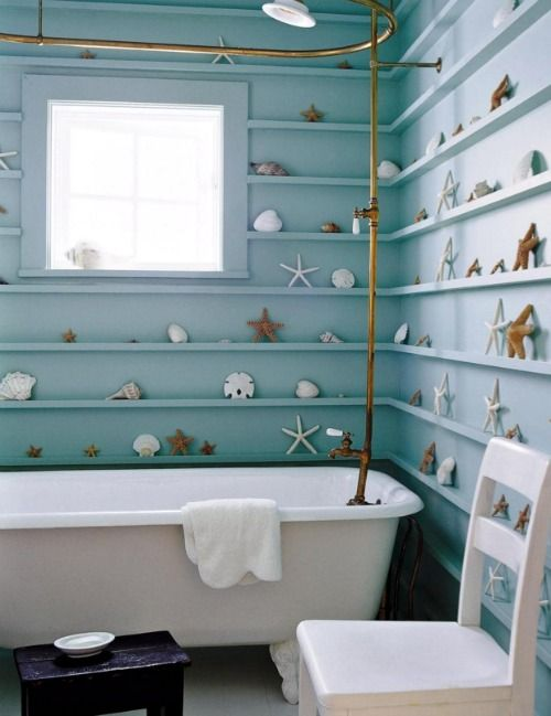 143 best images about coastal bathrooms on pinterest for Bathroom rehab ideas