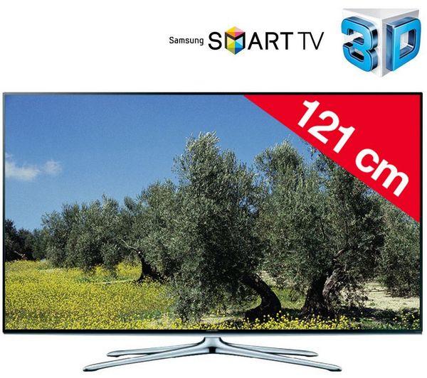SAMSUNG - UE48H6270 - Televisore LED 3D Smart TV + Kit n°2 - Supporto da parete orientabile + cavo HDMI