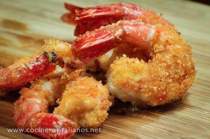 #langostinos empanados y horneados!! En el canal de #youtube de #cocinerositalianos Corre a ver el #video!!! #gambas #shrimp #prawns  #healthyfood #nofried #italy #picoftheday #pic #chef #cheflife #chefsofinstagram #food #foodporn #foodphotography