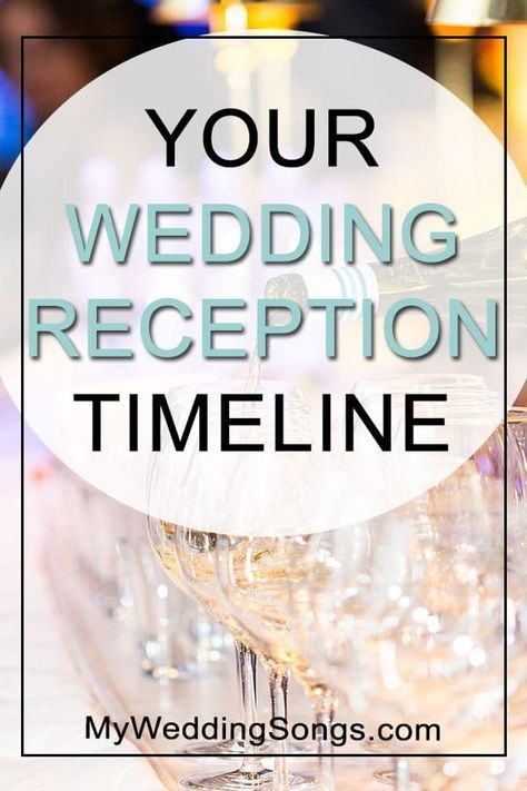 Common Wedding Reception Format Our Wedding Pinterest Wedding