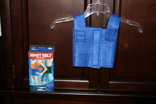 Deep pressure vest, made by me! (cost only 2 bucks!)