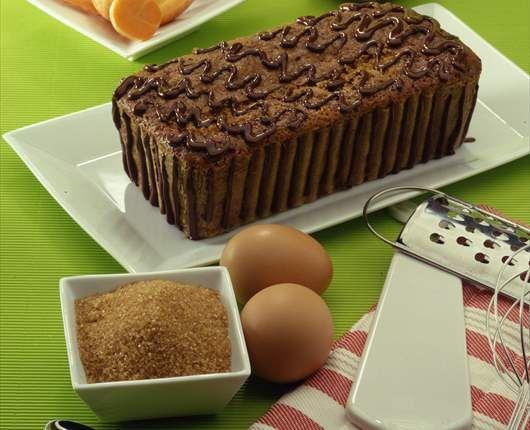 Pastel de chocolate y zanahoria