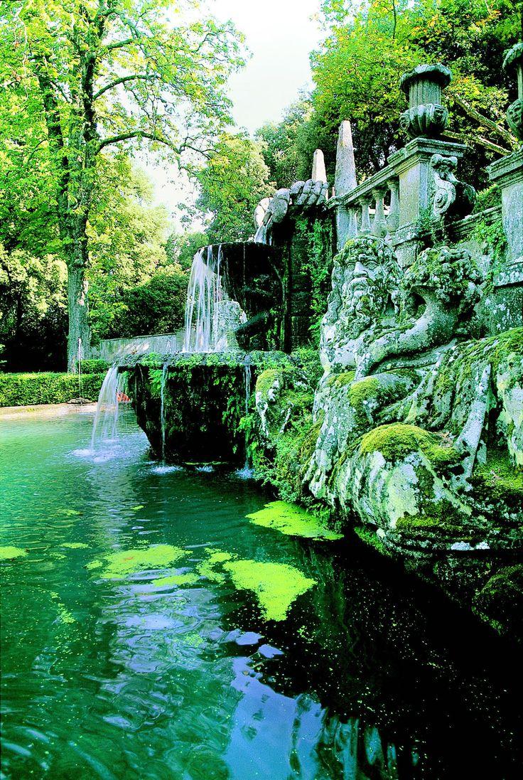 Villa Lante, Italy -> Garden, province of Viterbo , Lazio region Italy