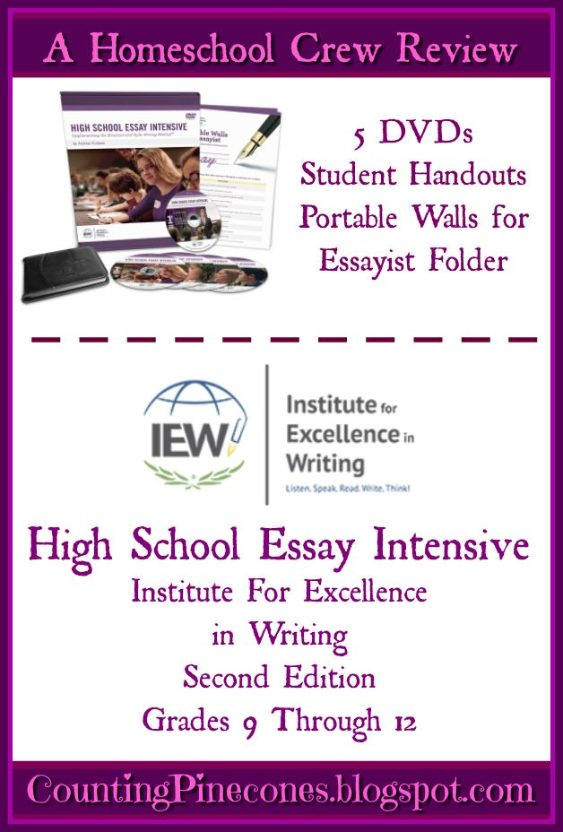 How to Write an Essay: IEW High School Essay Intensive – A Review