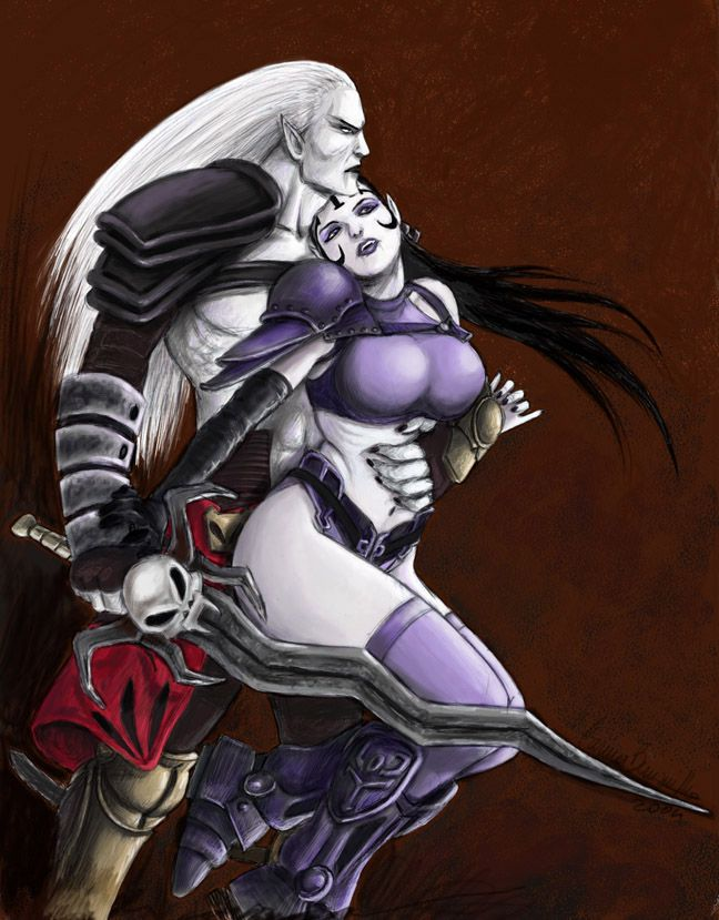 """""""You could have been my queen... And now you've left me alone."""" Kain, Blood Omen 2."""