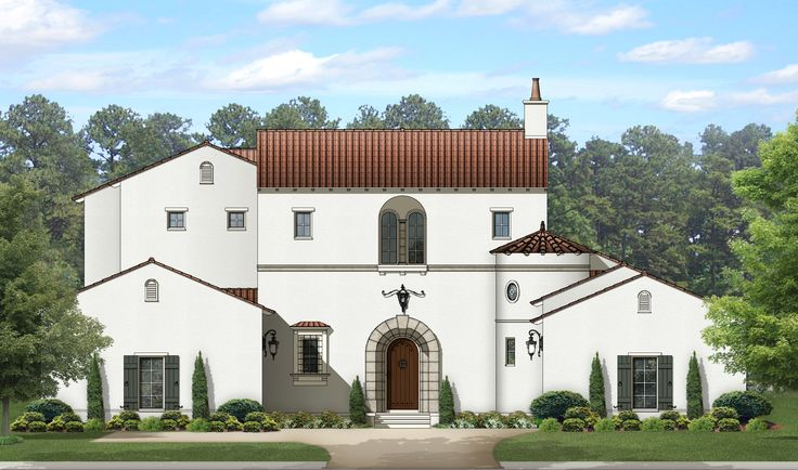 <ul><li>Where else can you find a circular wet bar, wine cellar and a knock-out master suite with its own private vestibule entry?</li><li>This enchanting Mediterranean house plan delivers them all with a beautiful exterior to go with.</li><li>Views sweep around from the foyer through the living room, dining room and kitchen all the way to the family room and outdoor living space beyond.</li><li>The circular wet bar serves the whole area with ease.</li><li>An amazing owner's suite has an…