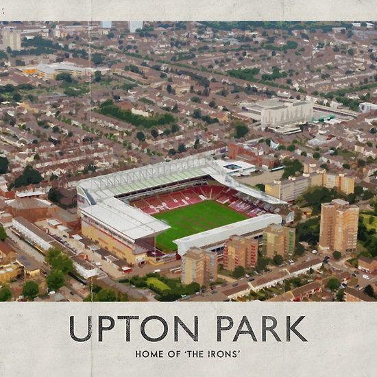 Vintage Football Grounds - Upton Park (West Ham United FC)