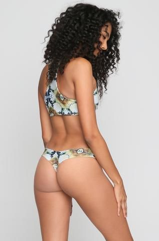 Tucker Bikini Bottom in Ombre Palms