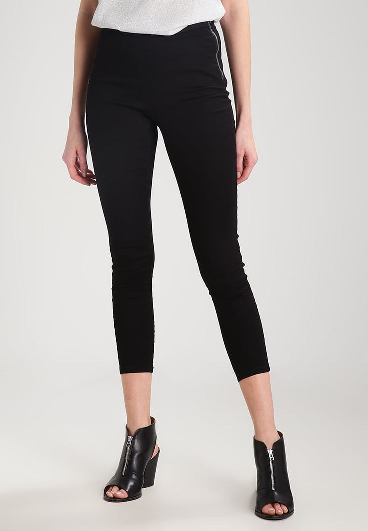 ONLY ONLDALLAS - Jeggings - black - Zalando.se