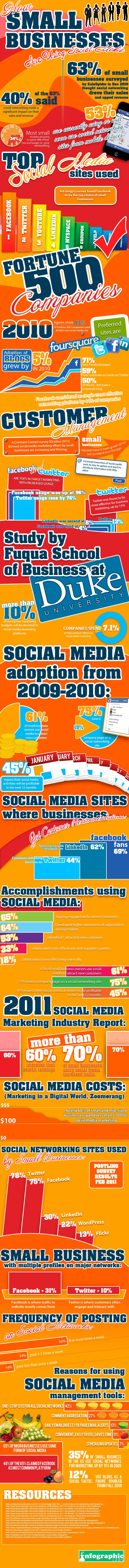 82 best powerful infographics images on pinterest social media of small businesses polled are using social media of which said made a significant impact on their sales revenuee for more interesting stats fandeluxe Choice Image