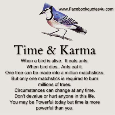 Best Karma Quotes On Facebook.