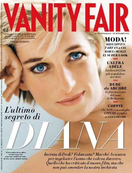Vanity Fair Italia - 25 Settembre 2013 with Princess Diana