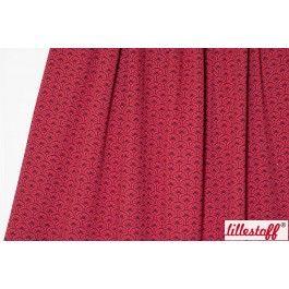 lillestoff » Jacquard Rising Sun, dark red « // Design: SUSAlabim // hier erhältlich: http://www.lillestoff.com/jacquardrisingsundarkred.html