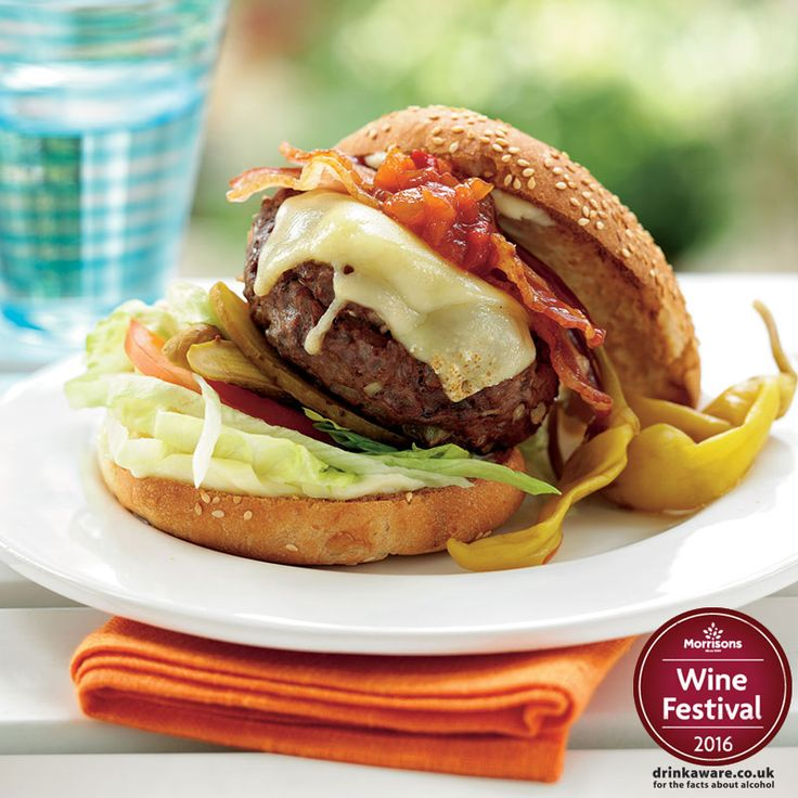 It's getting warmer and we're in the mood for a Great British Burger. Get stuck in over British Beef Week and have a go at creating your own delicious burgers. Our wine experts Recommend the Vinalba Malbec to complement these burgers #WineFestival po.st/HomemadeBurgers