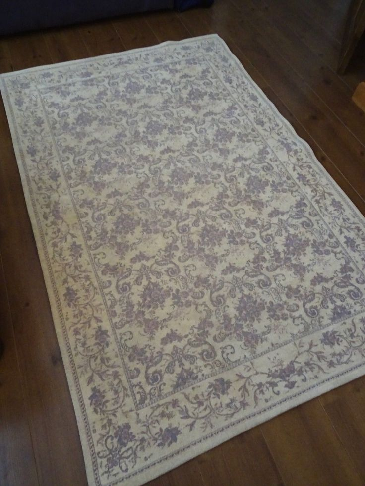 Laura Ashley Rug Wool Mix Josephine Shabby Cottage Chic French Filigree Toile In Home
