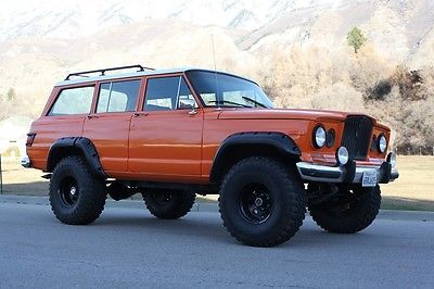 1965 Jeep Wagoneer Orange