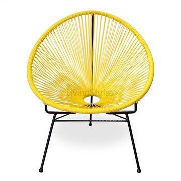 Acapulco Yellow Chair