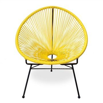 Acapulco Yellow Chair