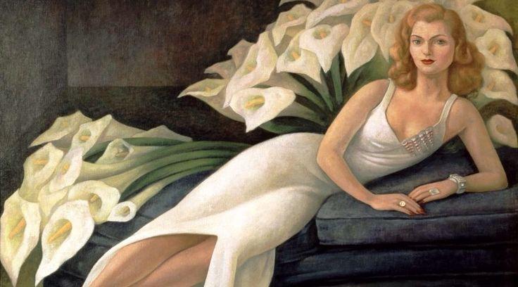 Natasha Zakólkowa - Gelman Diego Rivera (Spagna 1886-1957)1943, olio su tela. Alla mostra di Frida Kahlo a Roma.