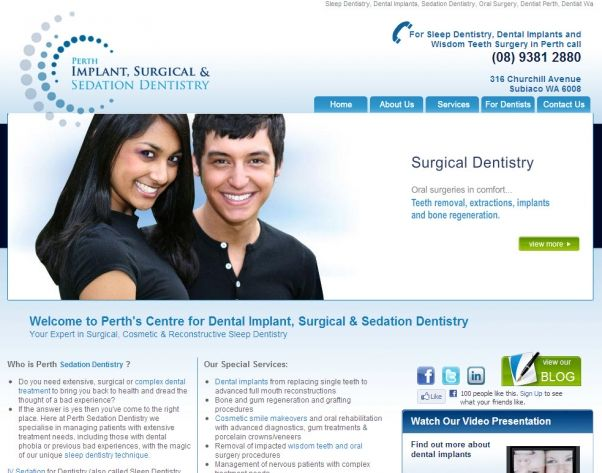 Perth Sedation Dentistry partnered with Exa to develop a professional and influential website that would enable the company to compete far more effectively in the online market. By establishing an online presence, the company is able to reach a broad audience and has already significantly increased its customer base.