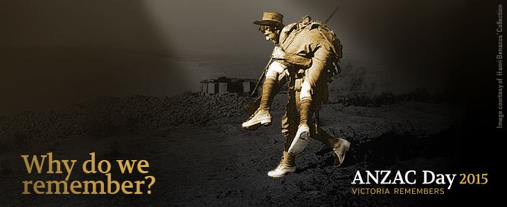 ANZAC Victoria Remembers