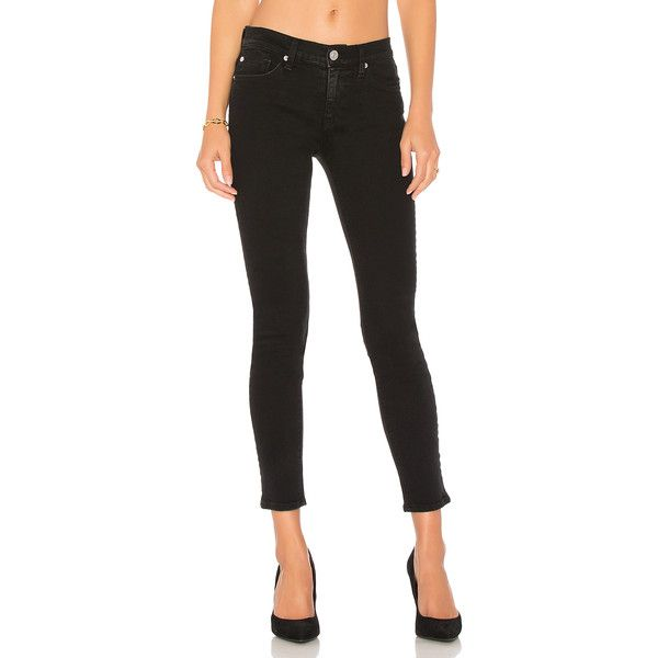 Hudson Jeans Nico Ankle Super Skinny ($185) ❤ liked on Polyvore featuring jeans, faded jeans, hudson jeans, faded skinny jeans, skinny leg jeans and skinny fit jeans