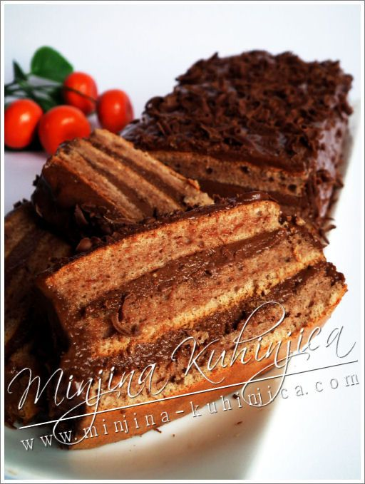 Ledena čoko torta | Minjina Kuhinjica